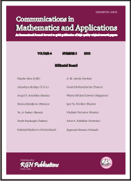 Communications in Mathematics and Applications